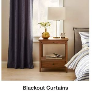 Eclipse blackout one rod pocket Panel 63 inches